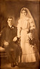 Wedding of Harry Brown and Mabel Sides.