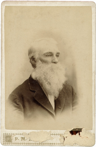 George Cooper, born 12 June 1827. Maga's Great-Grandfather.