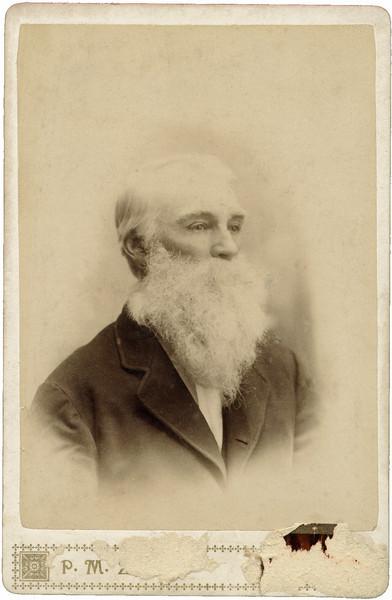 George Cooper, born 12 June 1827. Maga's Great-Grandfather.